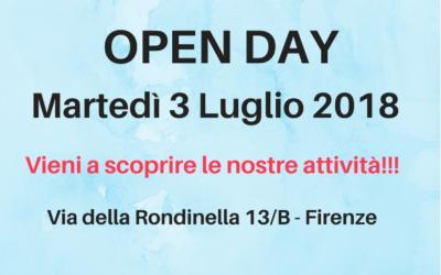OPEN DAY 3 Luglio 2018
