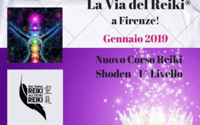 CORSO REIKI SHODEN – 1° LIVELLO