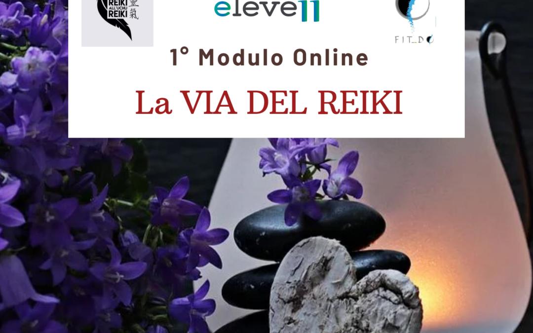 La VIA DEL REIKI 1° Modulo Online
